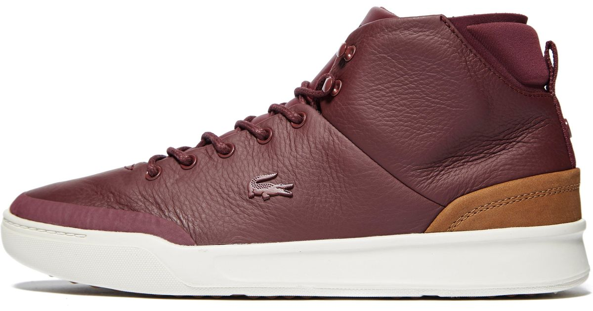 eb5760bf7 Lacoste Explorateur Classic High Tops for Men - Lyst