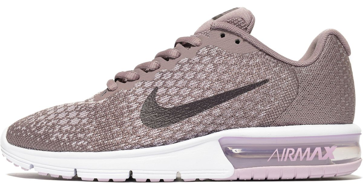lyst nike air max sequent 2 in gray. Black Bedroom Furniture Sets. Home Design Ideas