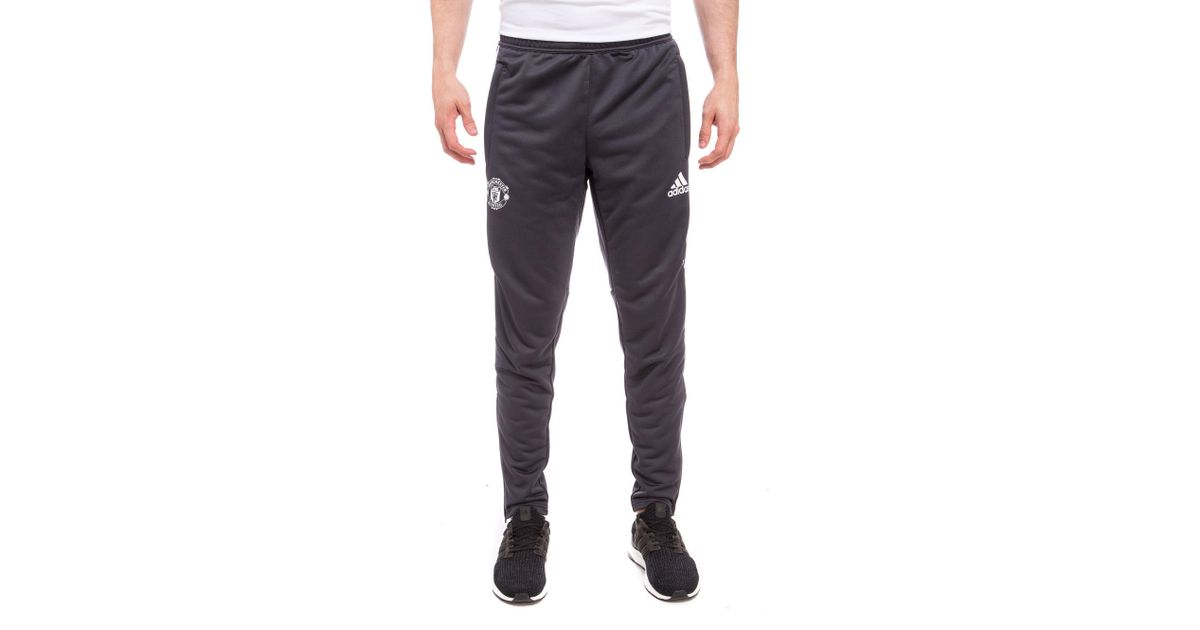 Adidas Gray Manchester United Training Pants For Men