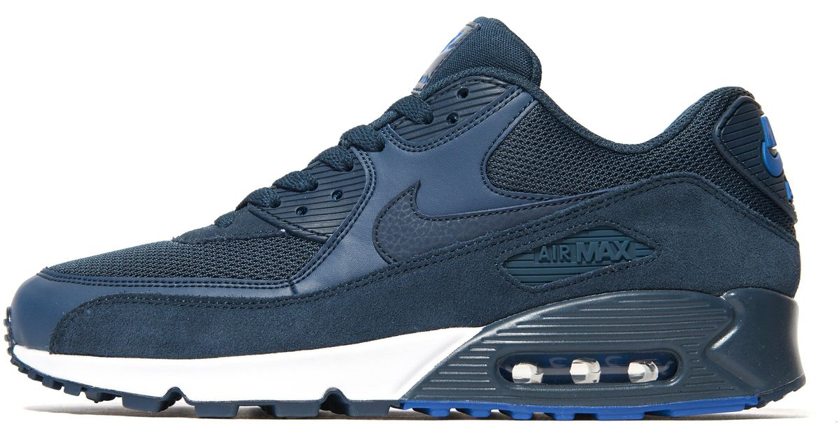 san francisco 75a7c 3e68a Nike Air Max 90 Army Trainers in Blue for Men - Lyst