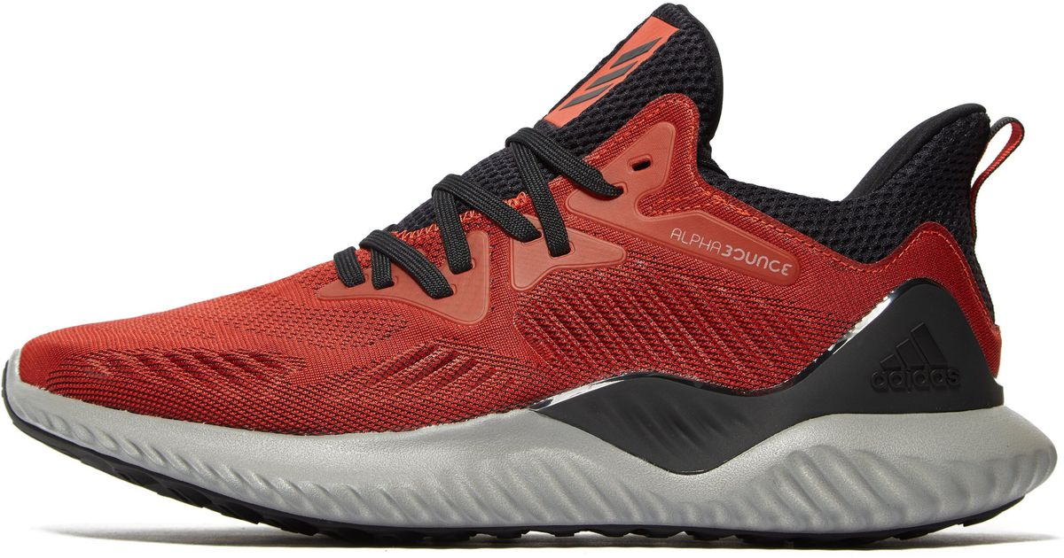 fcc7e63c634fb Lyst - adidas Alpha Bounce Beyond in Red for Men