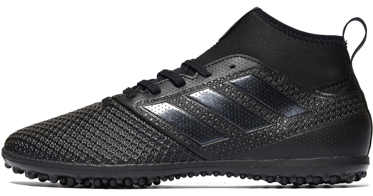 official photos 17dcb caa82 Adidas Black Magnetic Storm Ace 17.3 Primemesh Turf for men