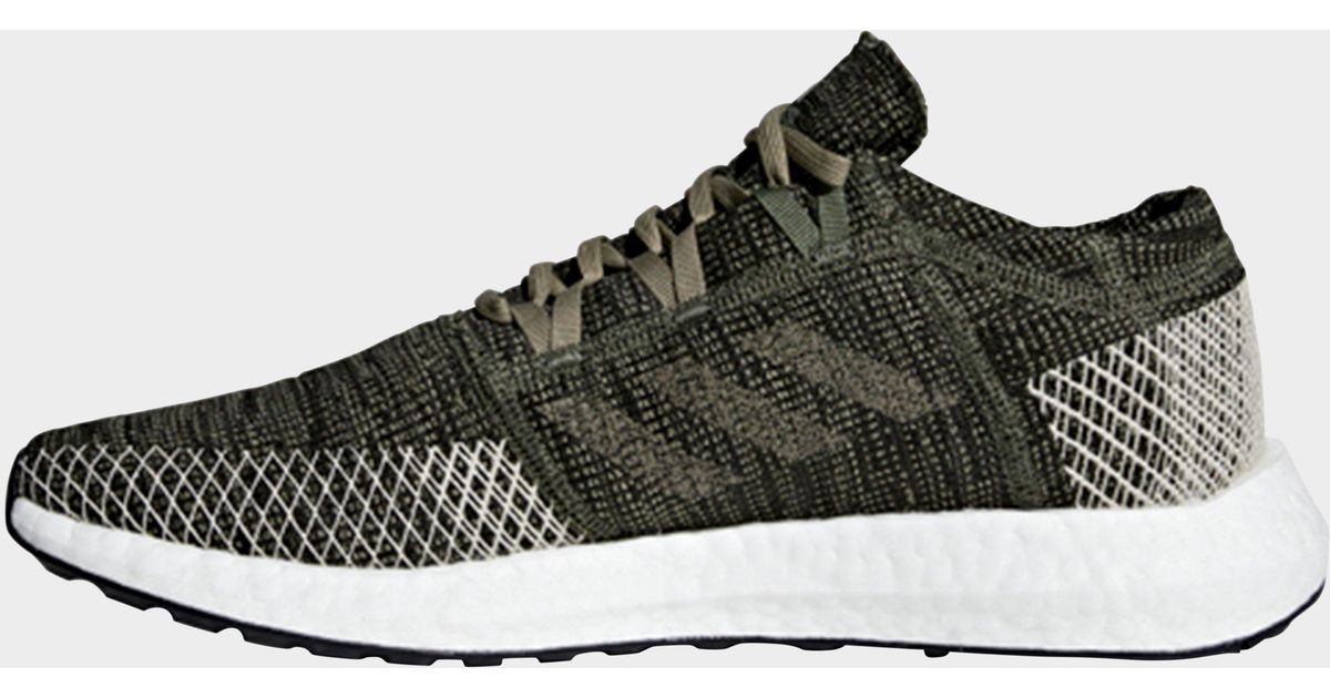 adidas Pureboost Go Shoes in Green for