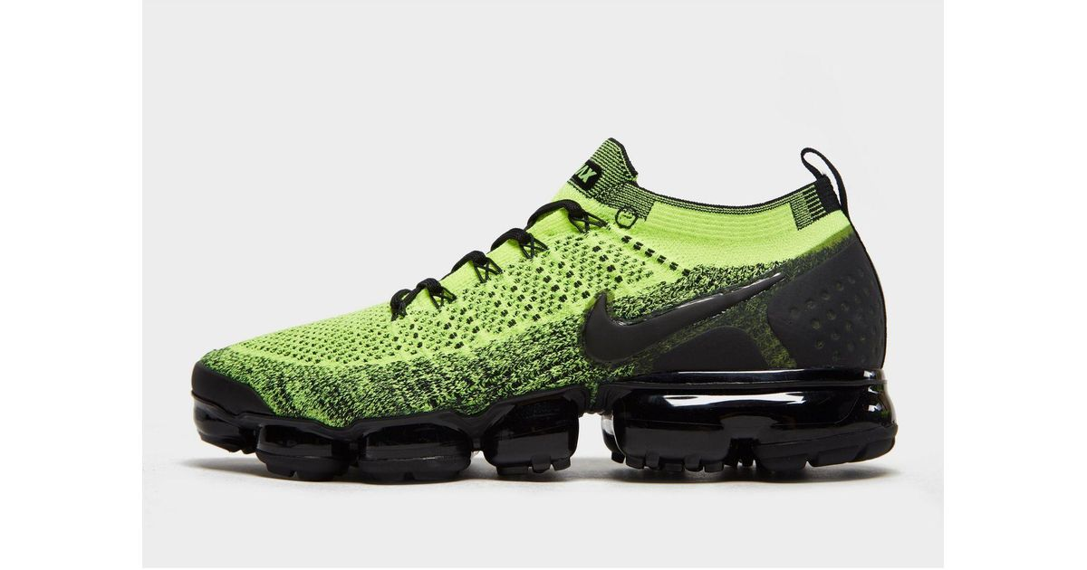 separation shoes 5ff04 34592 Nike Green Air Vapormax Flyknit 2