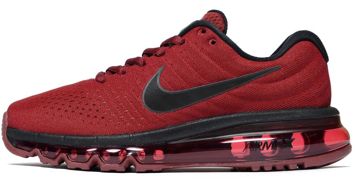 competitive price 31a24 c6e46 Lyst - Nike Air Max 2017 Junior in Red for Men