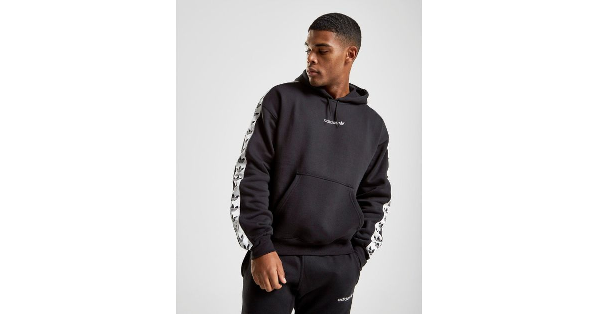 2059db97ab Adidas Originals Black Tape Fleece Overhead Hoodie for men