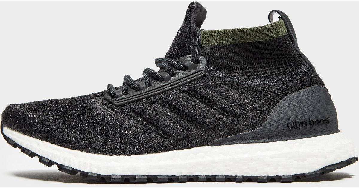official store where to buy exquisite design Adidas Black Ultraboost All Terrain Shoes for men