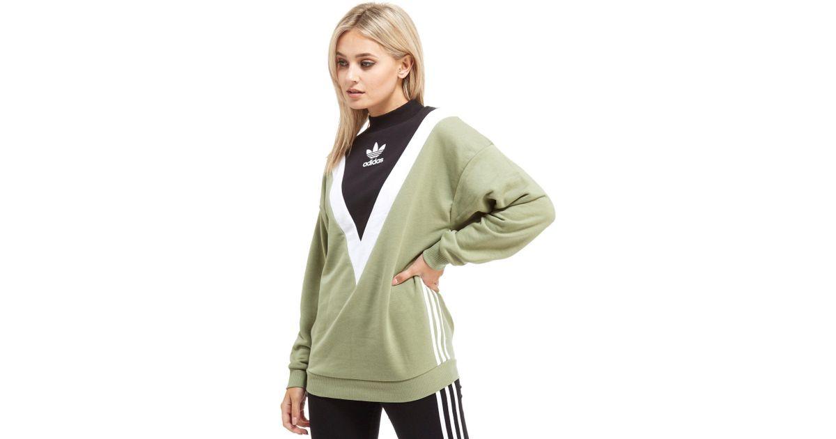 adidas originals chevron sweatshirt