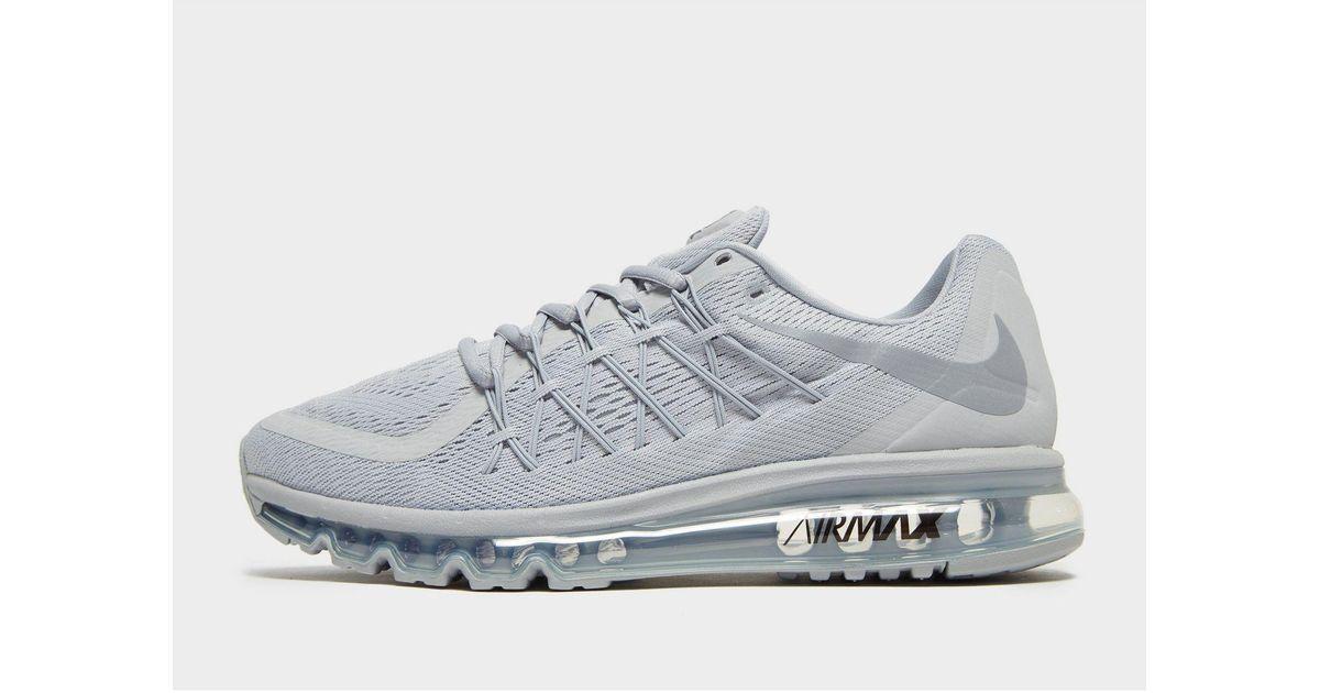 Nike Gray Air Max 2015 for men
