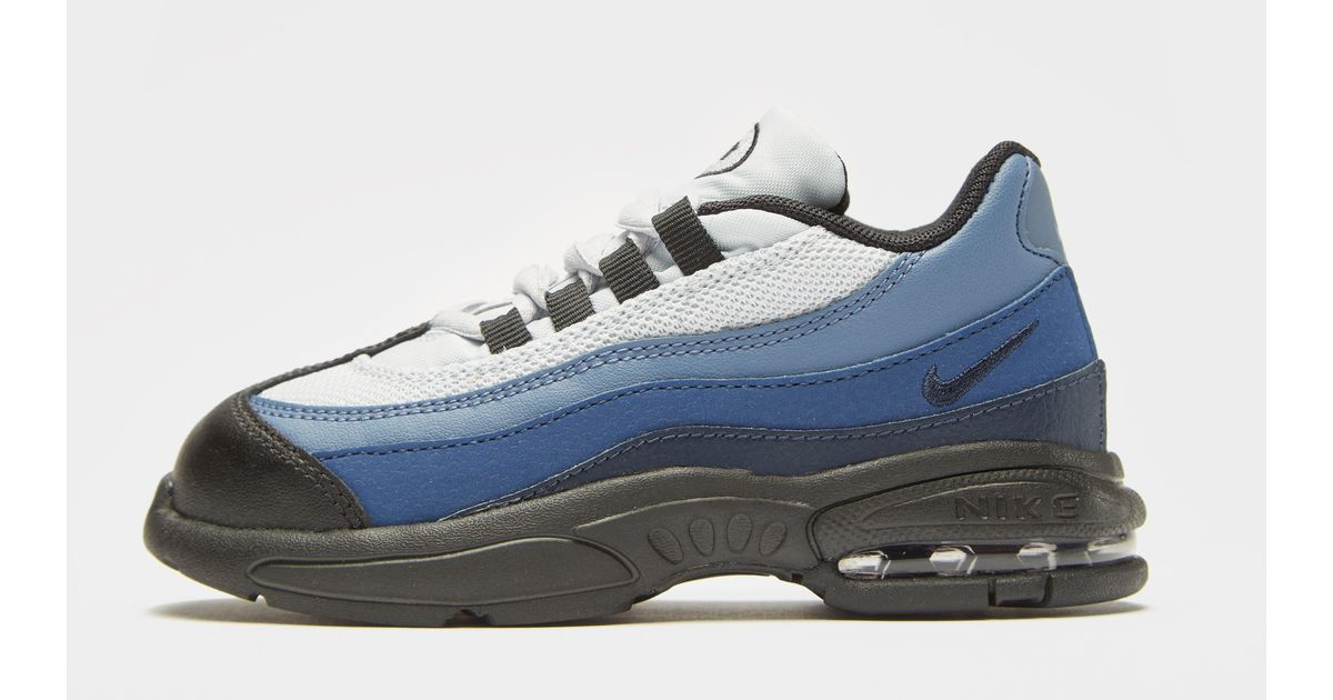 innovative design dcb7f d0bd2 Nike Air Max 95 Infant in Blue - Lyst