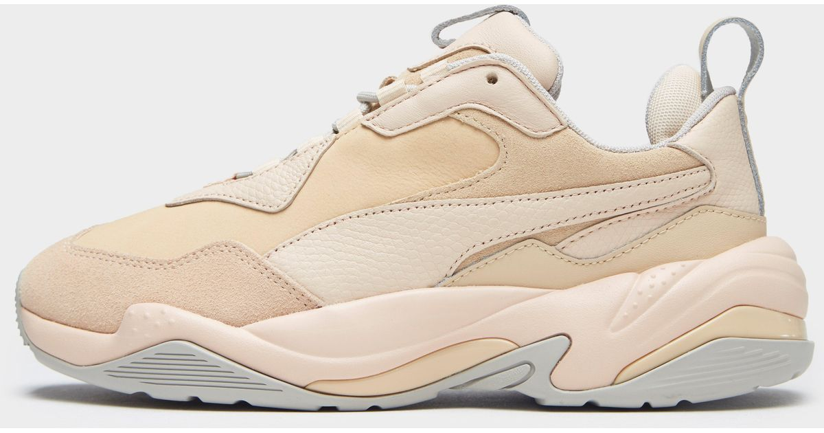 PUMA Leather Thunder Desert in Pink - Lyst