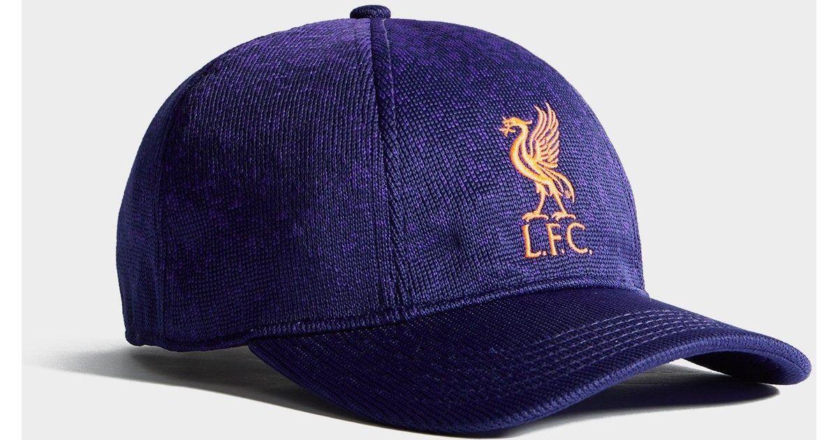 New Balance Purple Liverpool Fc Klopp Cap