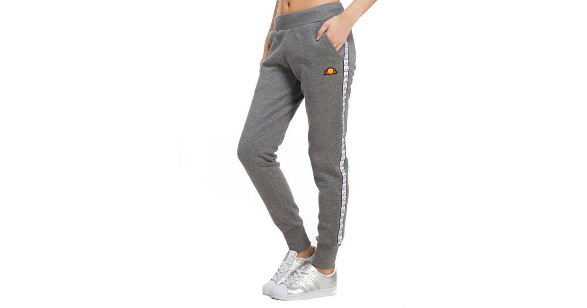 479d22794a11 Lyst - Ellesse Tape Fleece Pants in Gray