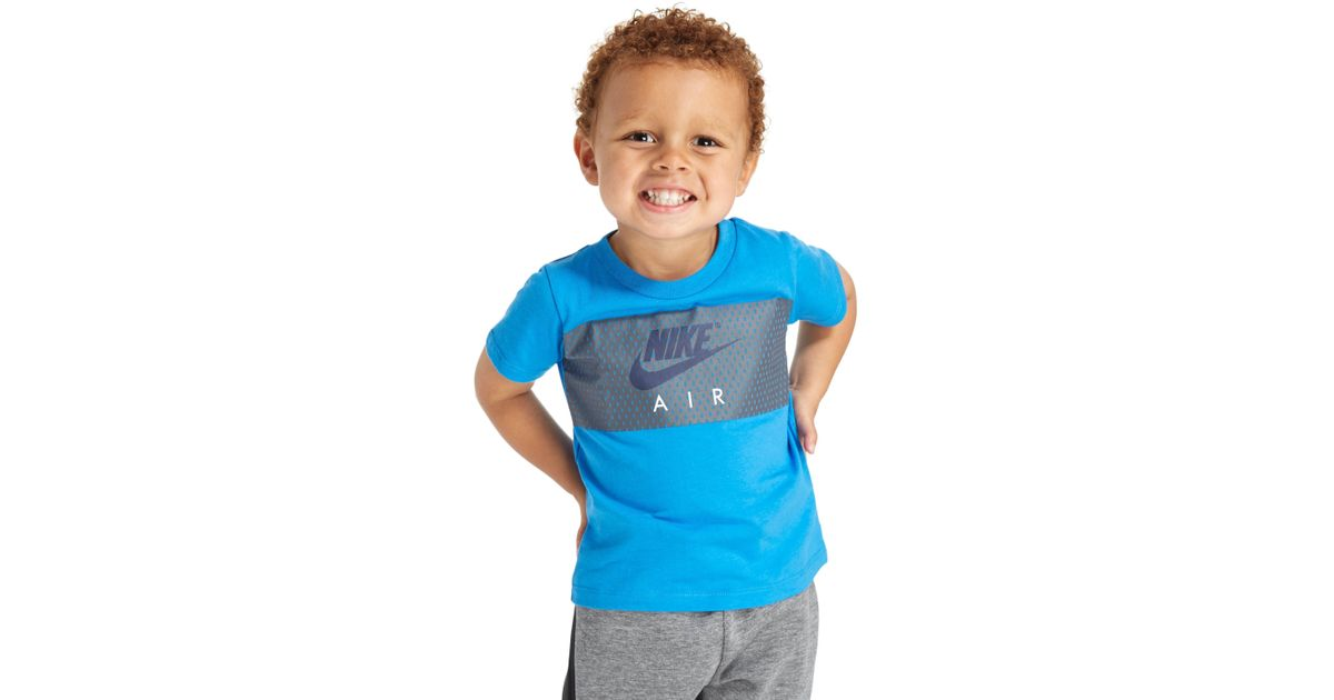 a17913507b Nike Air Colour Block T-shirt Infant in Blue for Men - Lyst