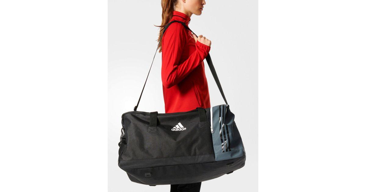 Lyst - adidas Tiro Team Bag Large in Black 34e5e0ded0087