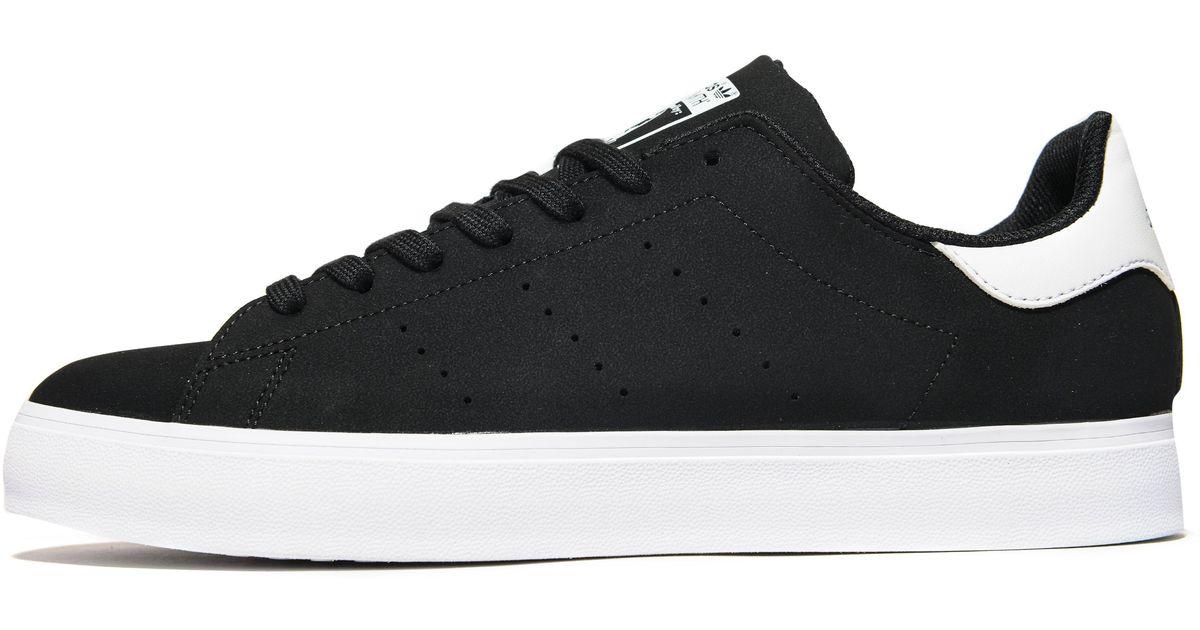 9fab4bb61c5062 Lyst - adidas Originals Stan Smith Vulc in Black for Men
