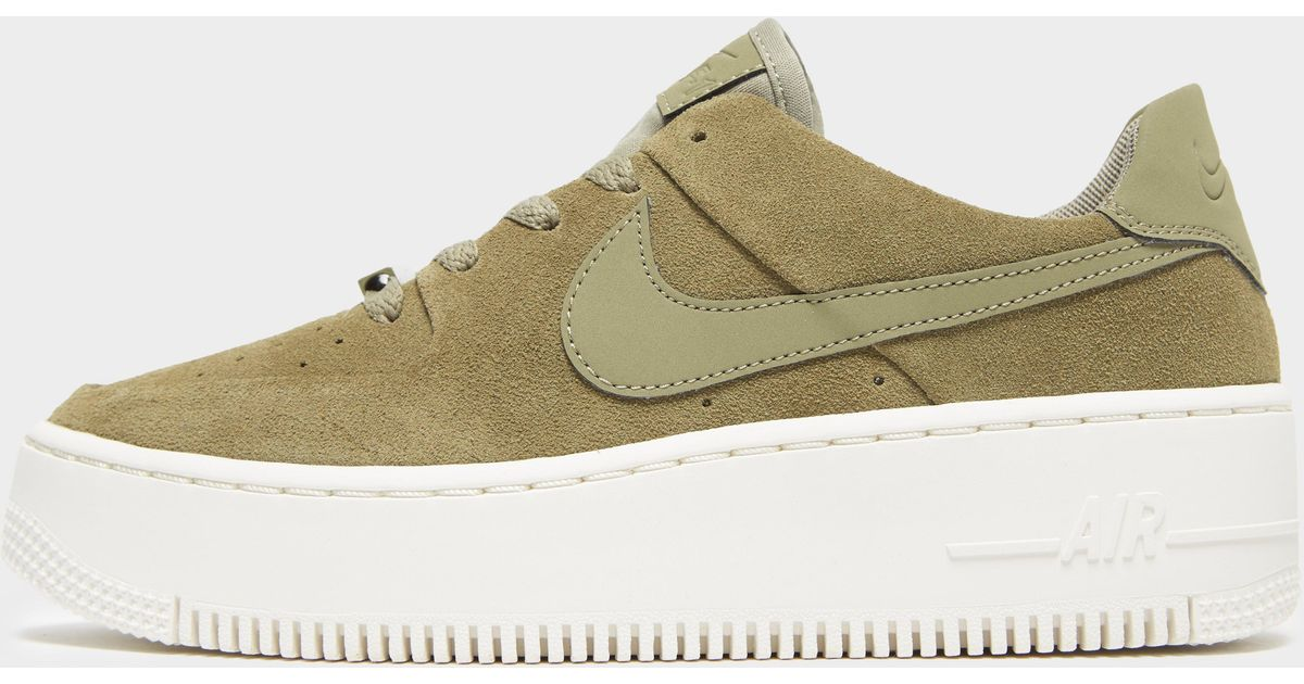 newest 77505 6e060 Nike Air Force 1 Sage Low in Green - Lyst