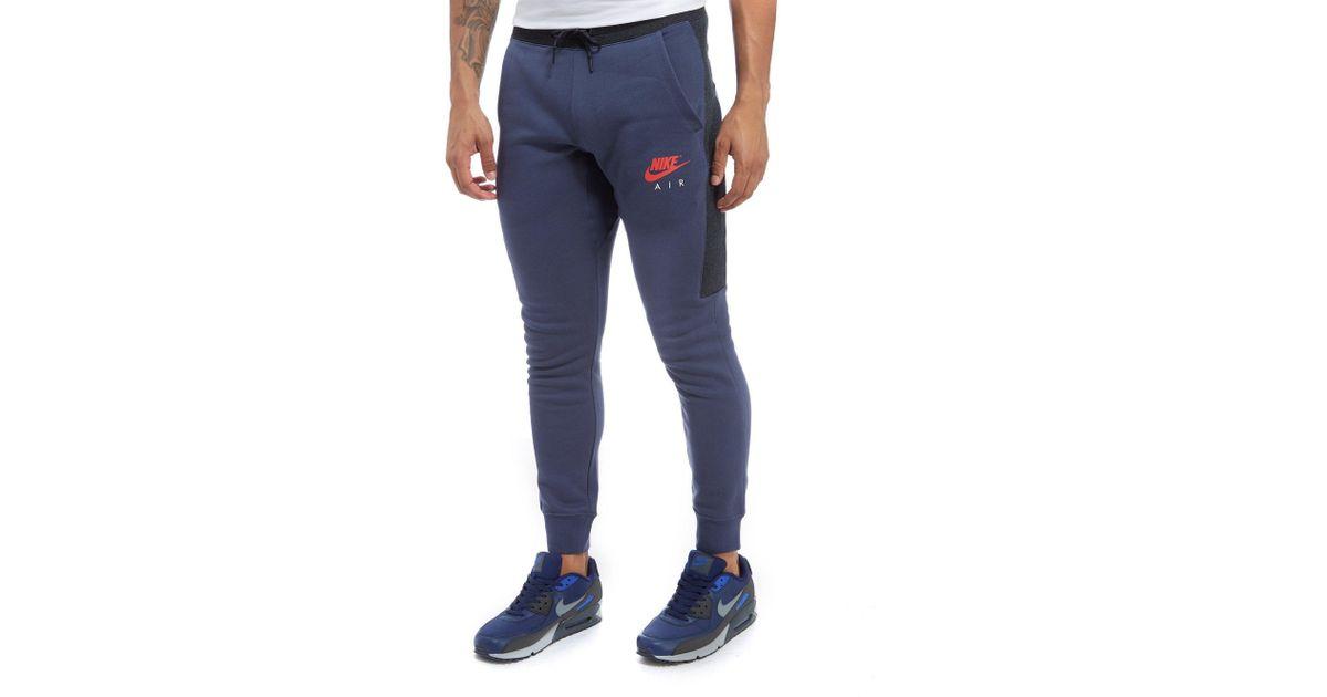 Nike Air Fleece Joggers in Blue for Men