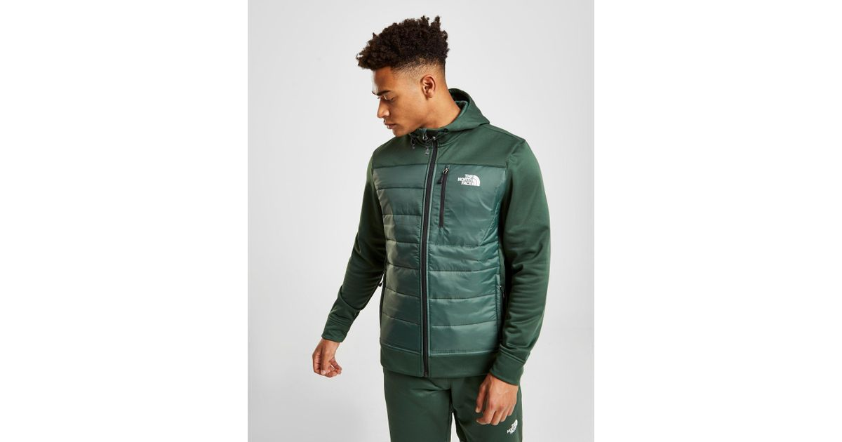 1f4aa7cac The North Face Green Mittellegi Hybrid Hoodie for men