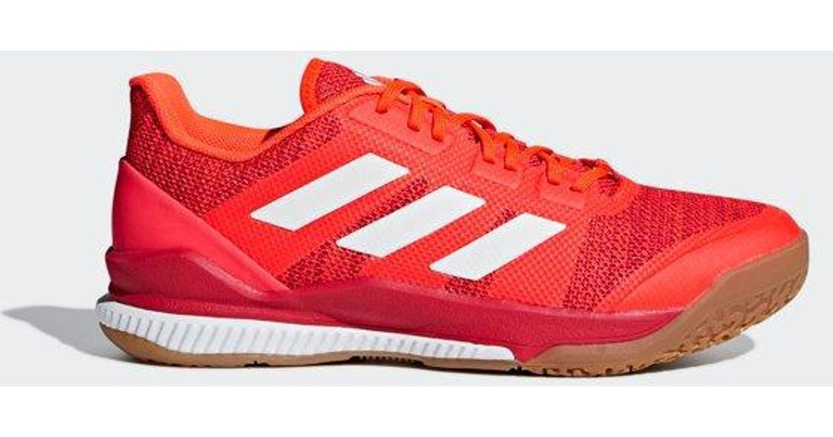 adidas Stabil Bounce Shoes in Red - Lyst