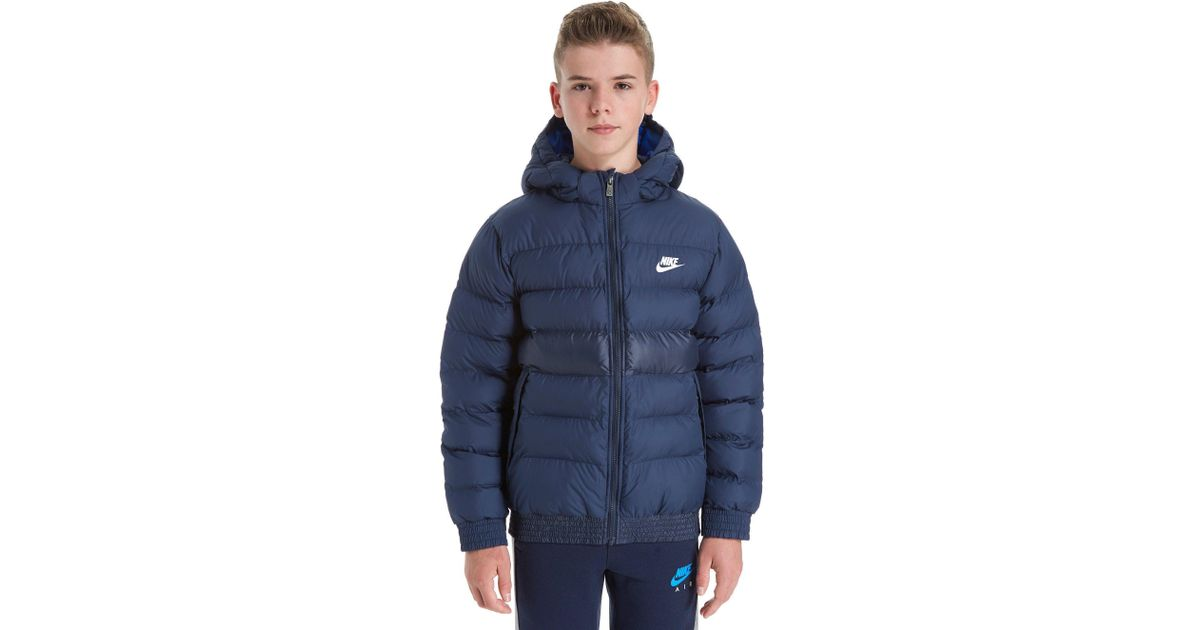 bcbf51902 Lyst - Nike Stadium Jacket Junior in Blue for Men