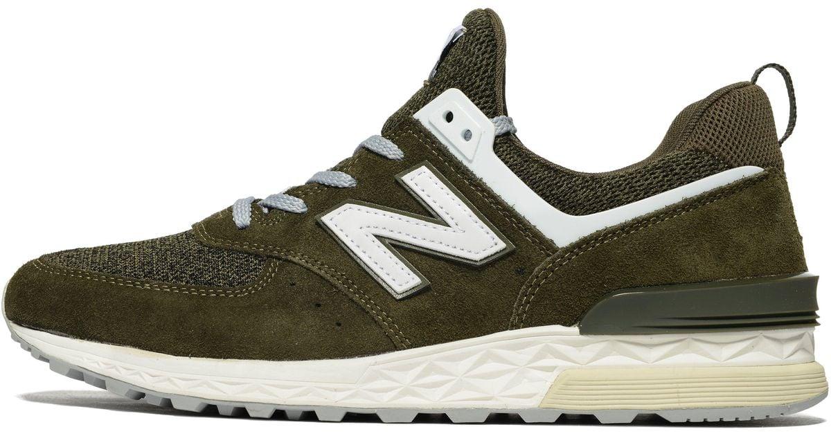 new styles 8afa3 703e2 New Balance - Green 574 Sport for Men - Lyst