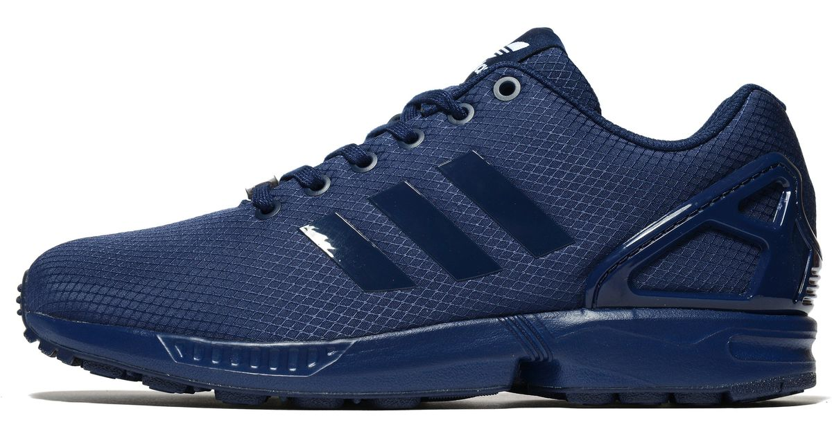 finest selection 34e0f 0b3fd Adidas Originals Blue Zx Flux Ripstop for men