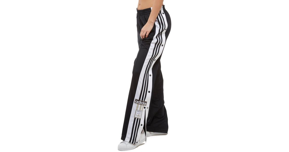 new arrival 86b6b 18f3e Lyst - adidas Originals Adibreak Popper Pants in Black