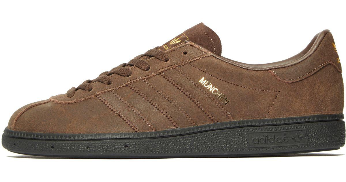 new arrival 2415b 94d54 adidas Originals Munchen in Brown for Men - Lyst
