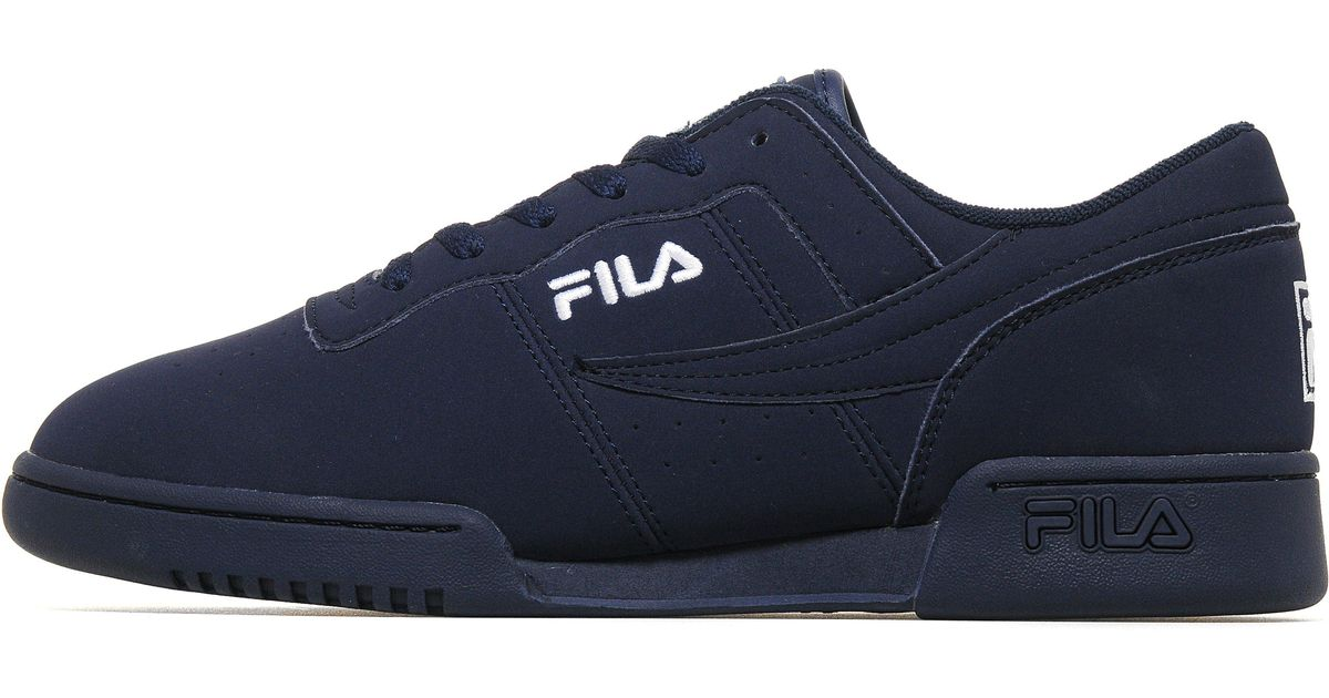 Fila Leather Og Fitness in Navy (Blue