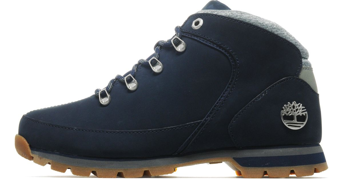 mariposa zorro insondable  Timberland Leather Calderbrook in Navy (Blue) for Men - Lyst