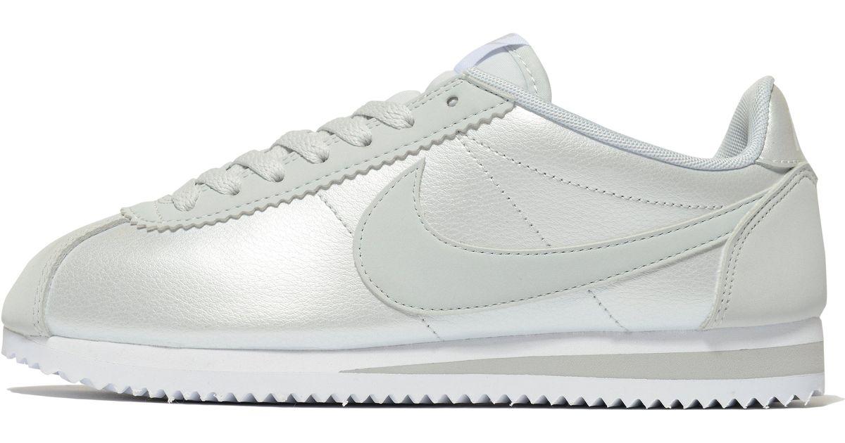 reputable site 61e0a c253a Nike Gray Cortez Glitter