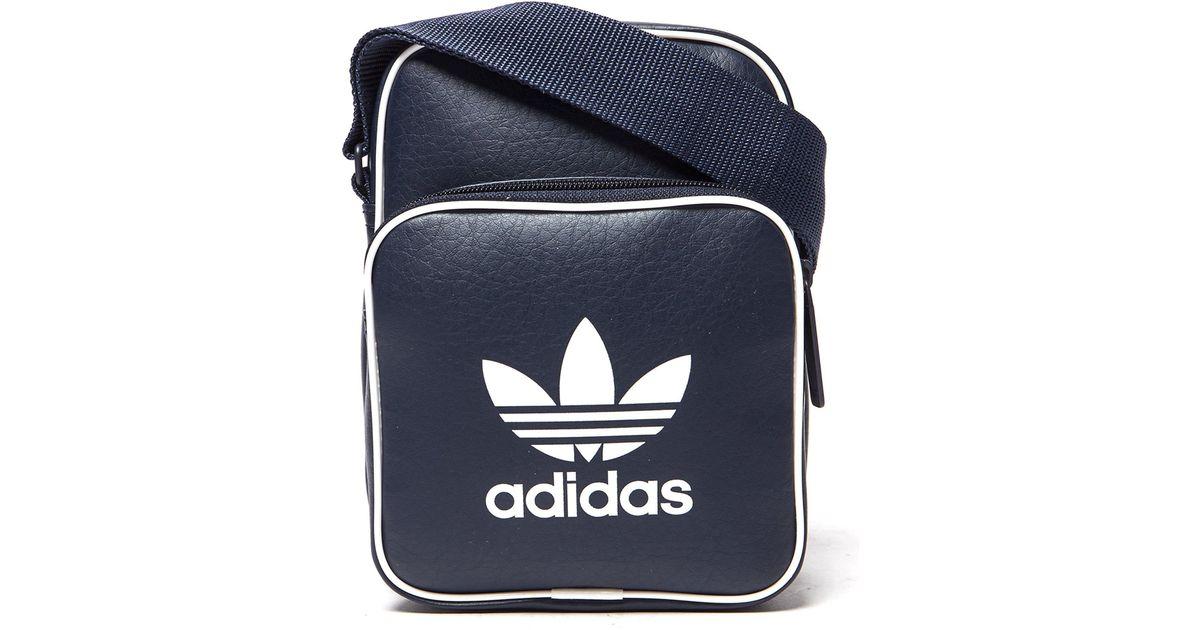 8909fa41bab6 Lyst - adidas Originals Classic Mini Bag in Blue for Men
