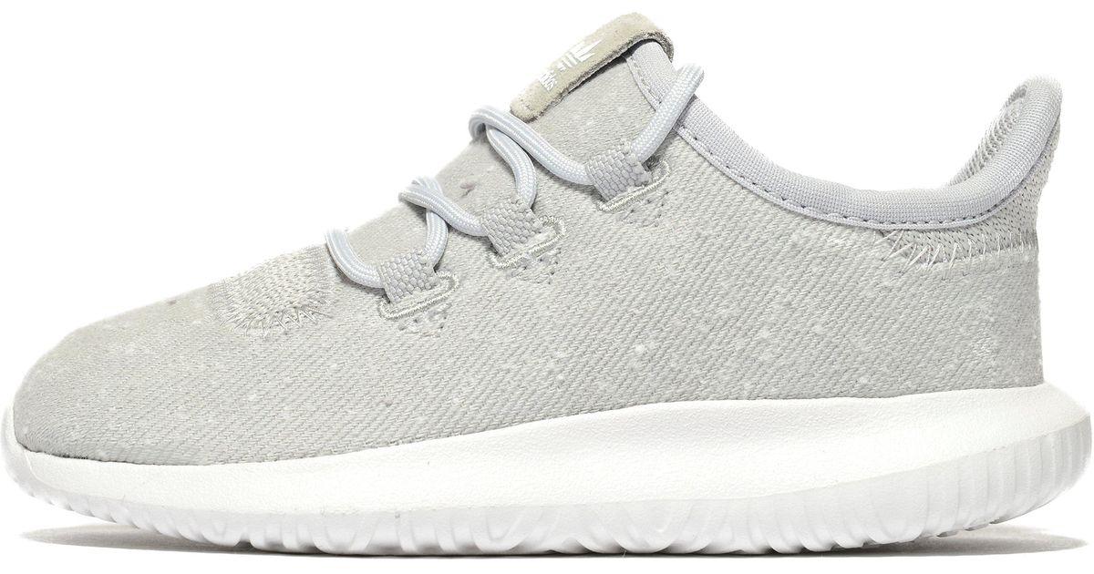 8b5040d17fe6 Lyst - Adidas Originals Tubular Shadow Infant in Gray