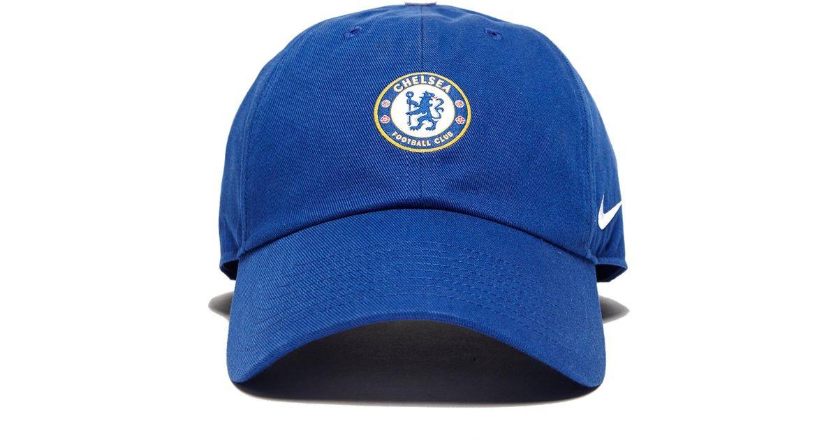 20aa978b11bef2 Nike Chelsea Fc H86 Cap in Blue for Men - Lyst