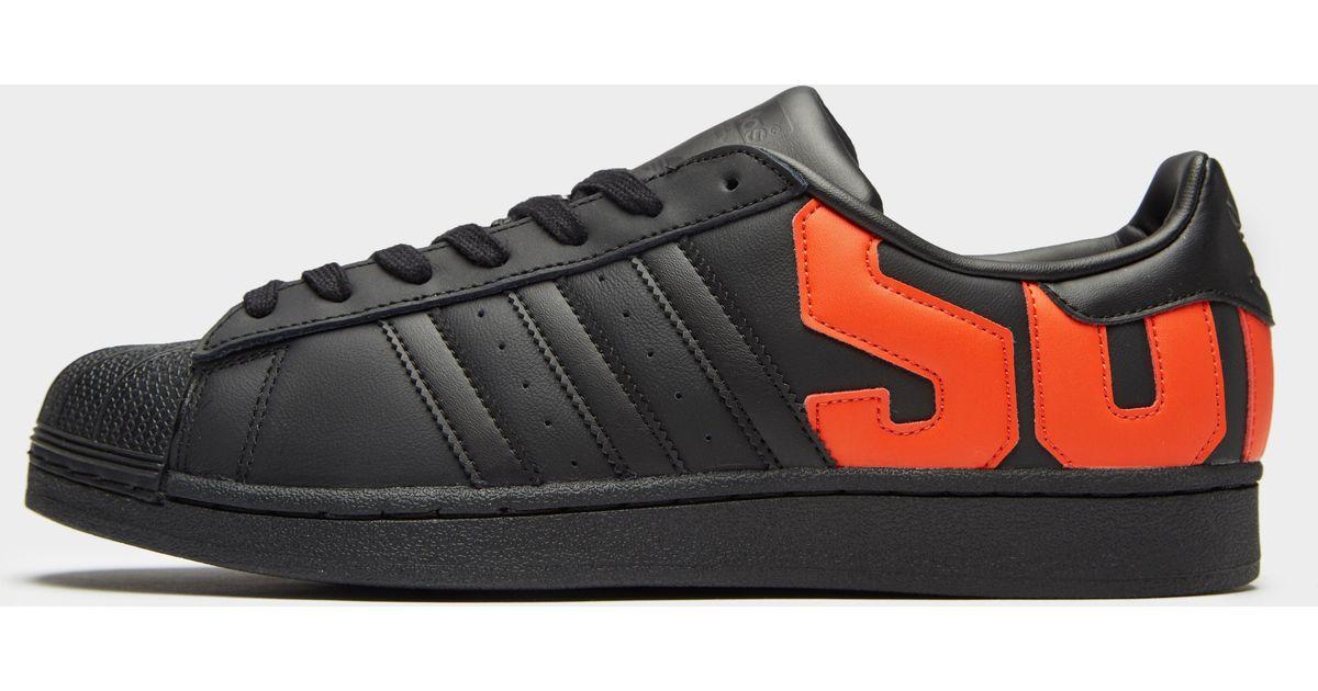 Adidas Black Sst Shoes for men