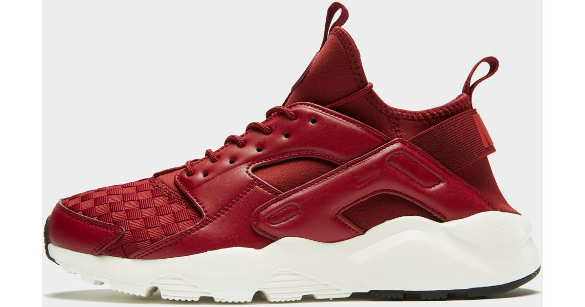 sports shoes a1aac 27e29 Nike Air Huarache Ultra Se in Red for Men - Lyst