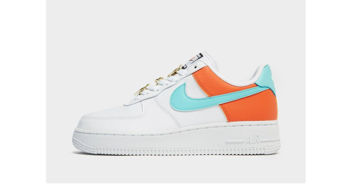Nike Leather Air Force 1 Se in White
