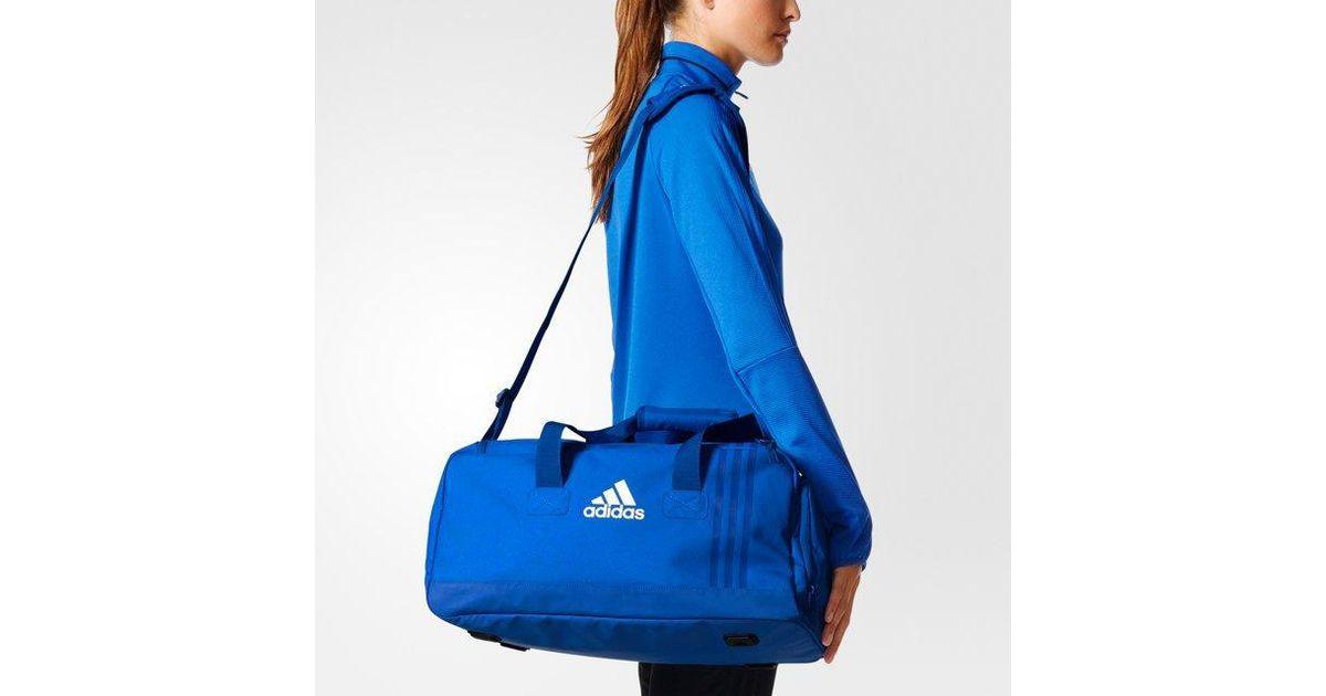 48e9351bb adidas Tiro Team Bag Small in Blue - Lyst