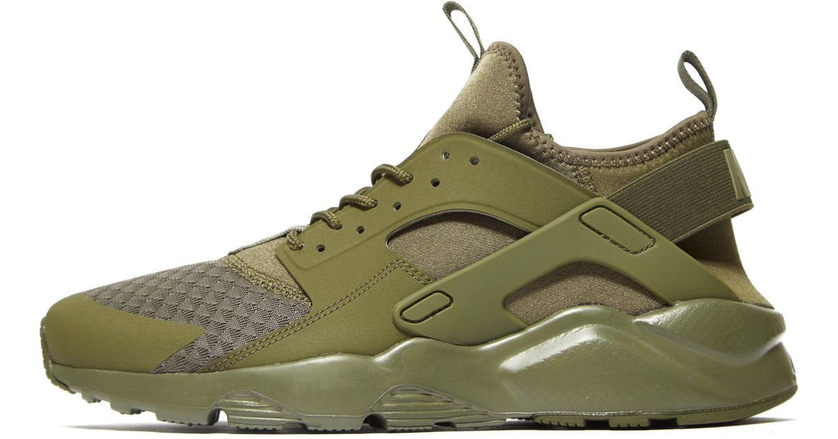 Nike Green Air Huarache Ultra for men