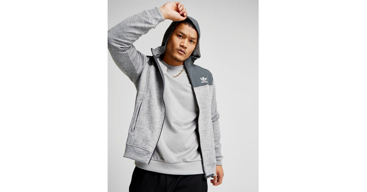 best shoes cute cheap wholesale sales adidas Originals Synthetic Nova Woven Hoodie in Grey (Gray ...