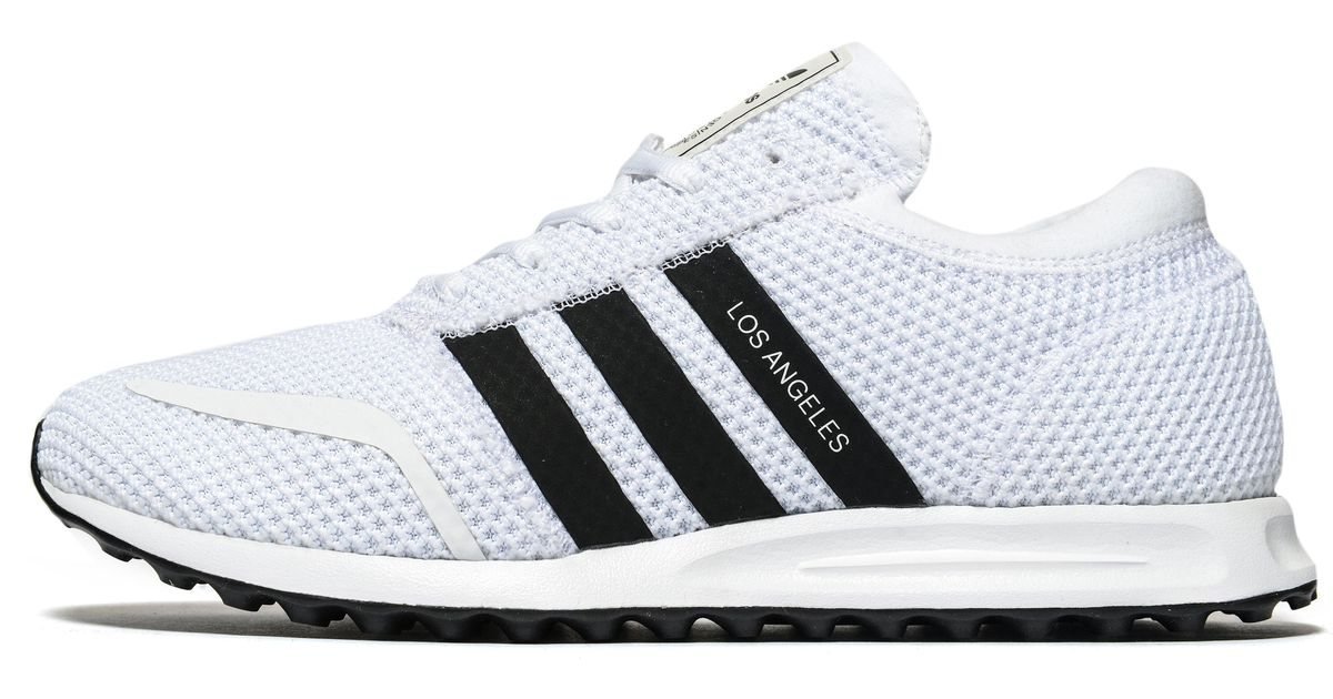 online retailer ace27 52a79 adidas Originals Los Angeles Ck in White for Men - Lyst