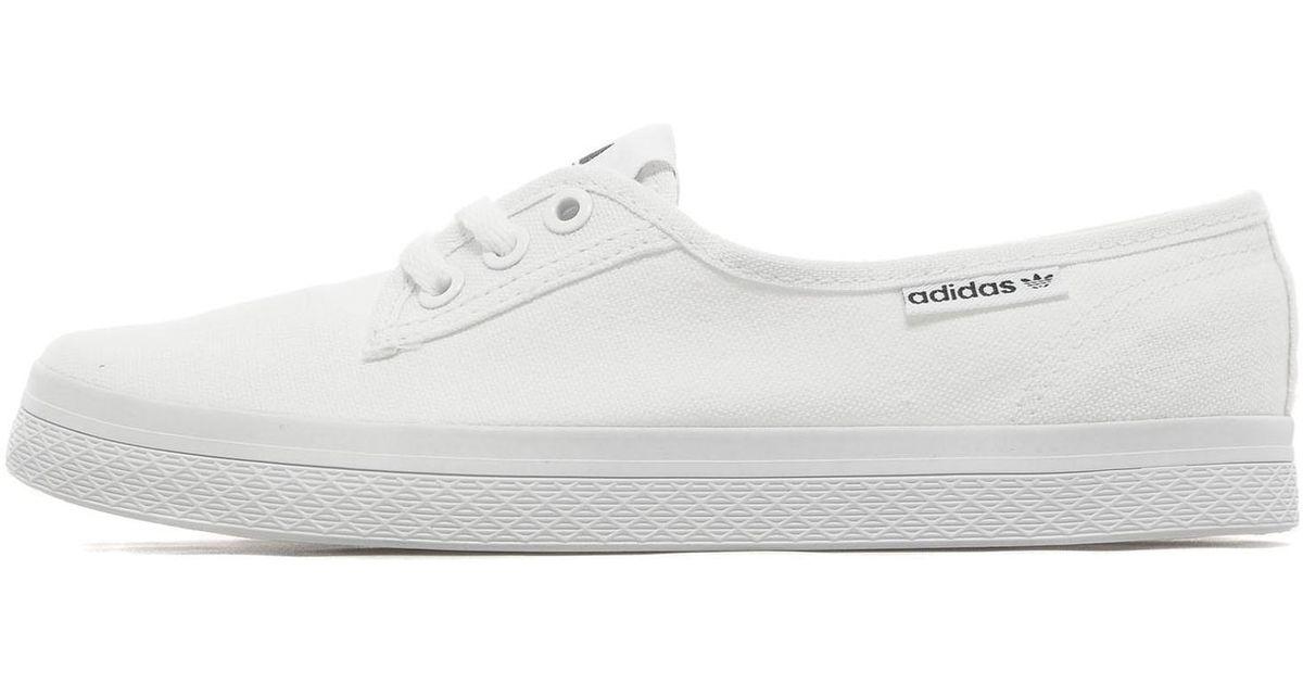 Adidas Originals White Honey Plimsoll