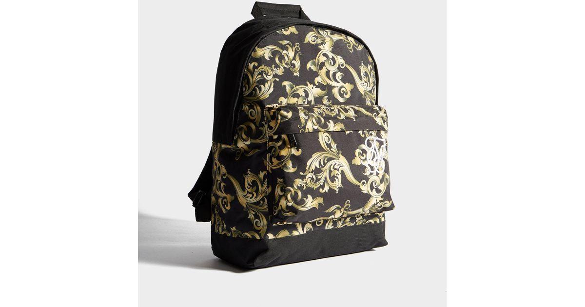 Siksilk Black Venetian Backpack