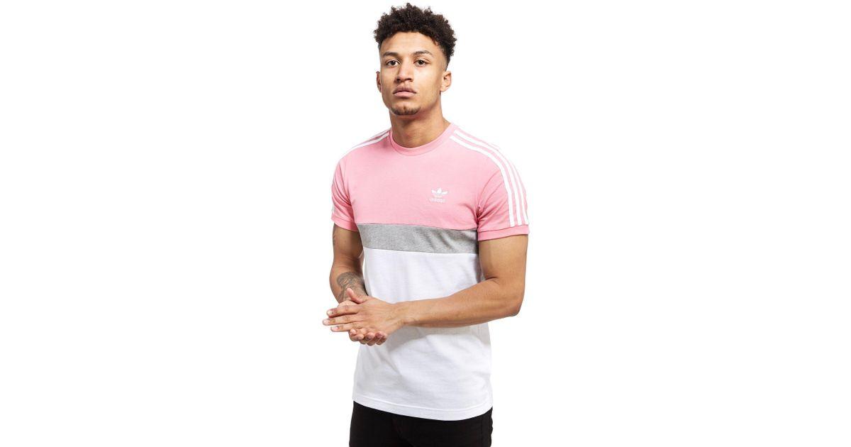Men 2 California Originals Pink Shirt For Adidas T 7bgyf6Y