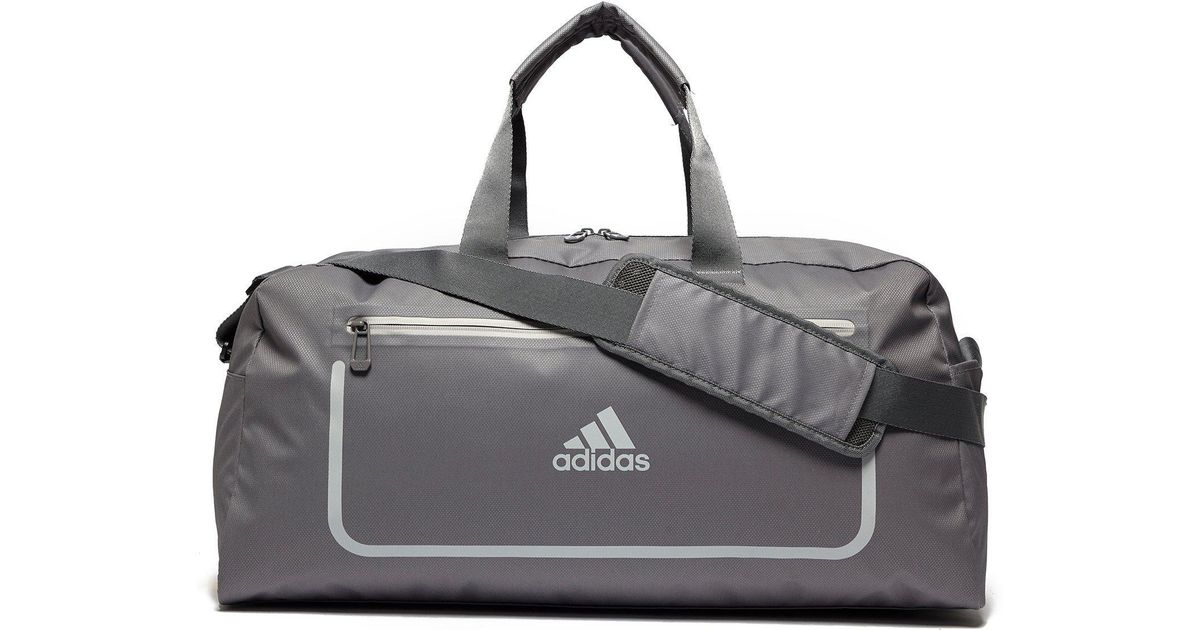 1dbea0a90672 adidas Medium Training Bag in Gray for Men - Lyst