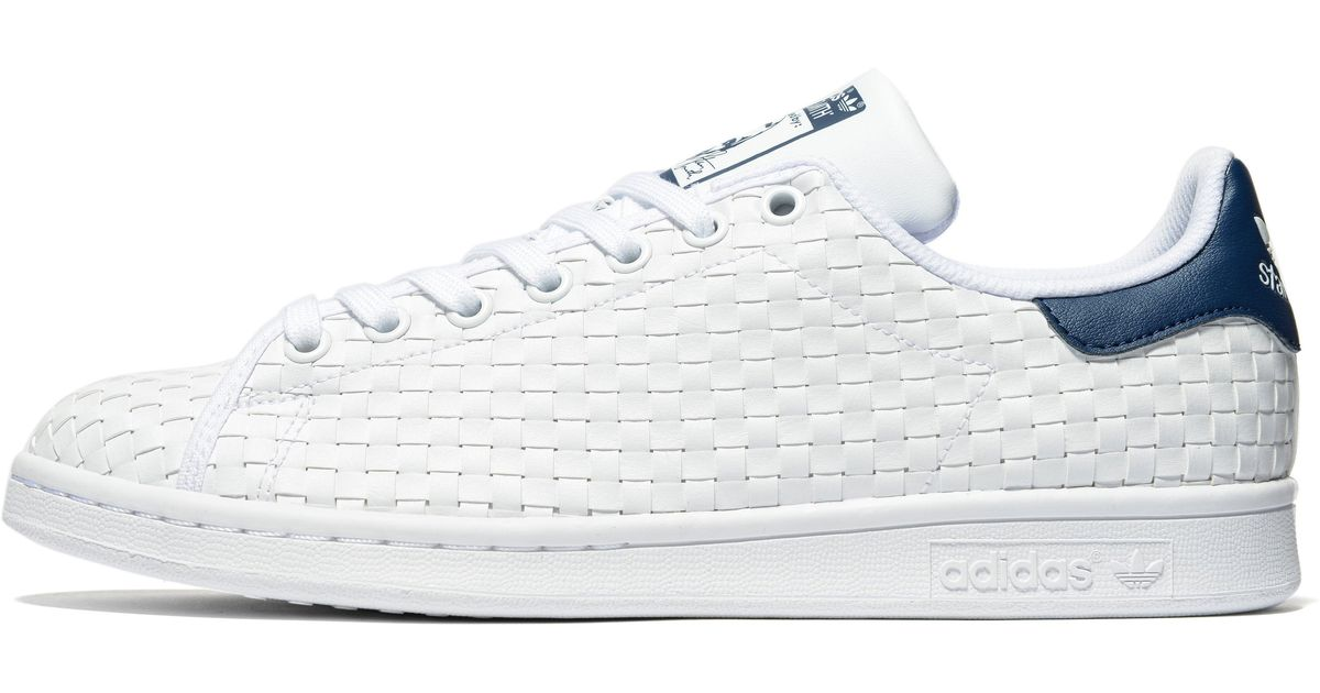 buy online ba144 19598 Lyst - adidas Originals Stan Smith Weave in White for Men