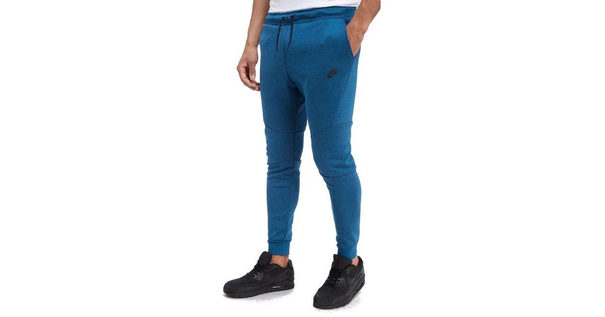 Nike Tech Fleece Pants In Blue For Men Lyst