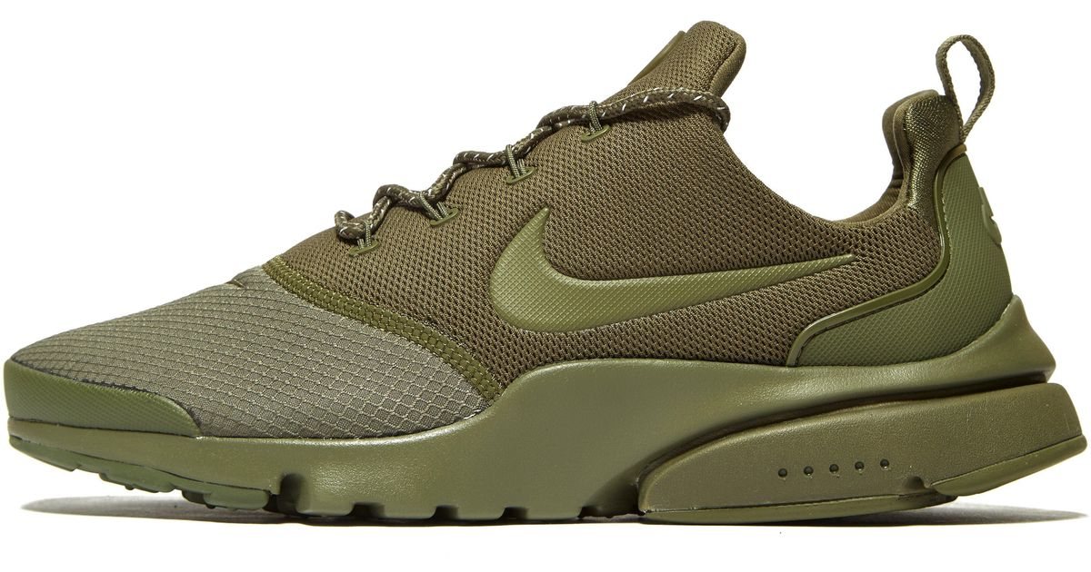 finest selection aca2a f5c2a Nike Green Air Presto Fly Se