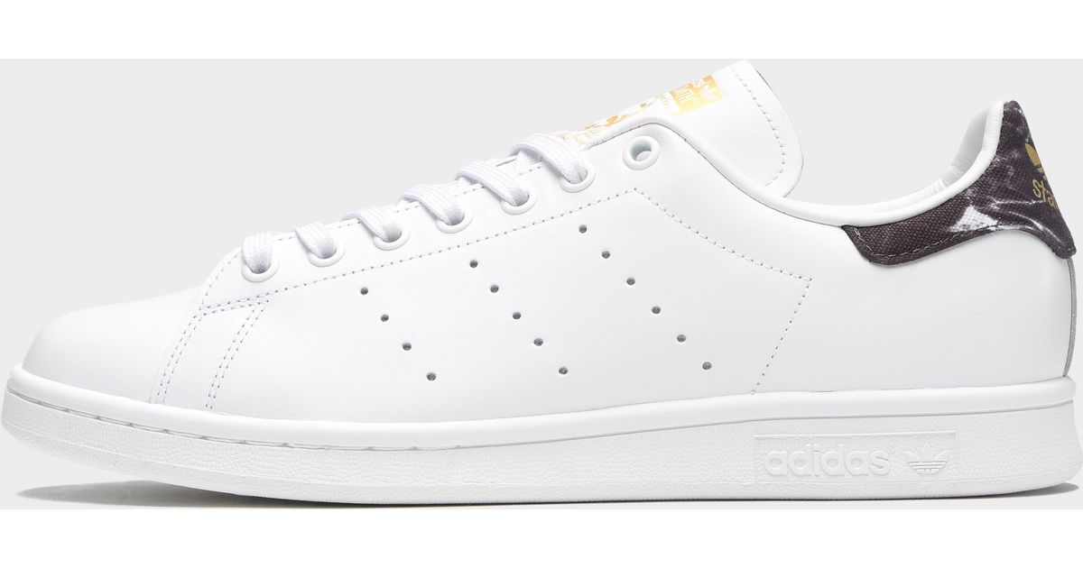 adidas Originals Stan Smith Marble in White for Men - Lyst db5cb358ce78